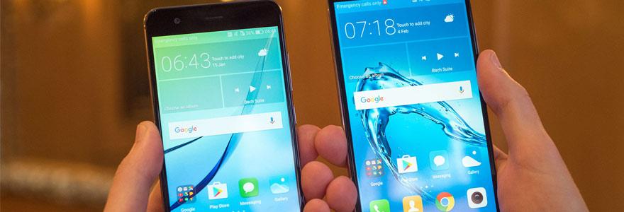 Huawei G9 Plus Vs Huawei Honor 8
