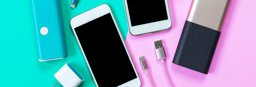 accessoires pour smartphones